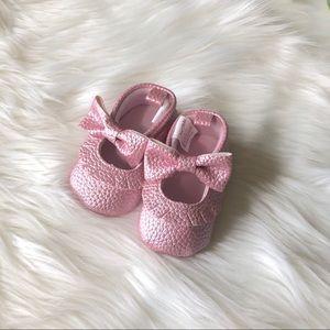Other - Pink Mocassins Baby Walker Size 0-6 Months